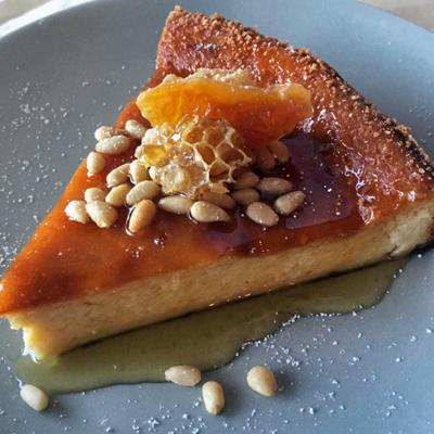 Blood Orange Ricotta Cheesecake