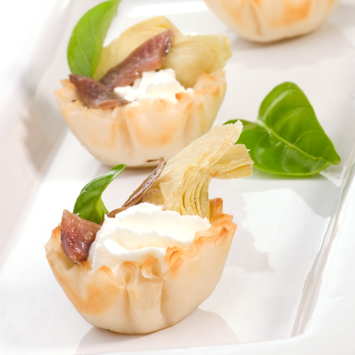 Alsatian Onion & Bacon Tartlets