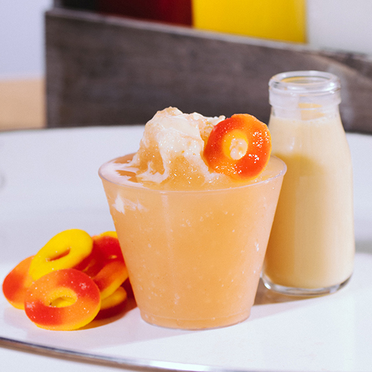 Texas Peaches & Sweet Cream