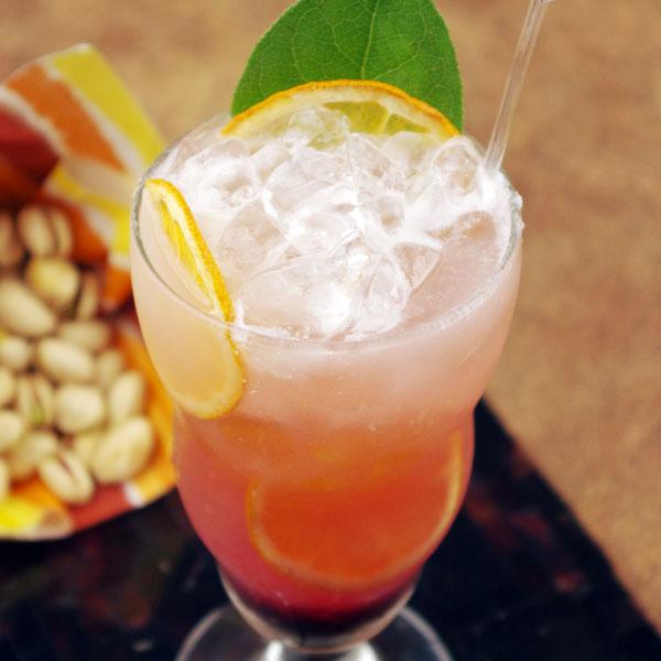 Meyer Lemon & Hibiscus Lemonade