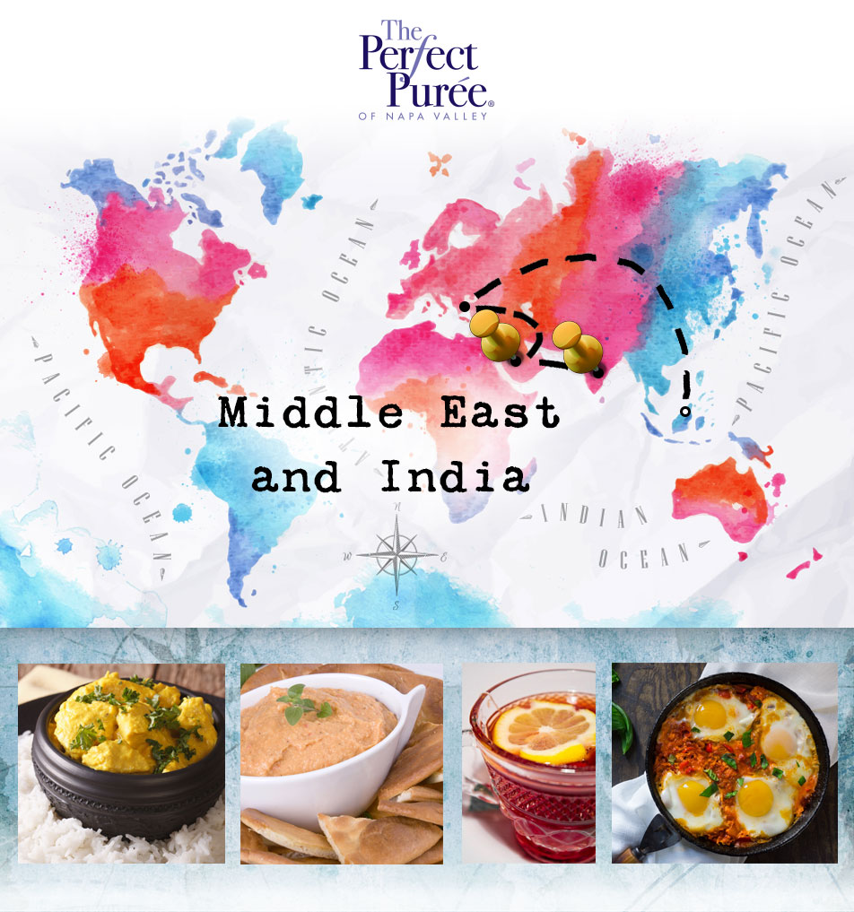 Middle East and India