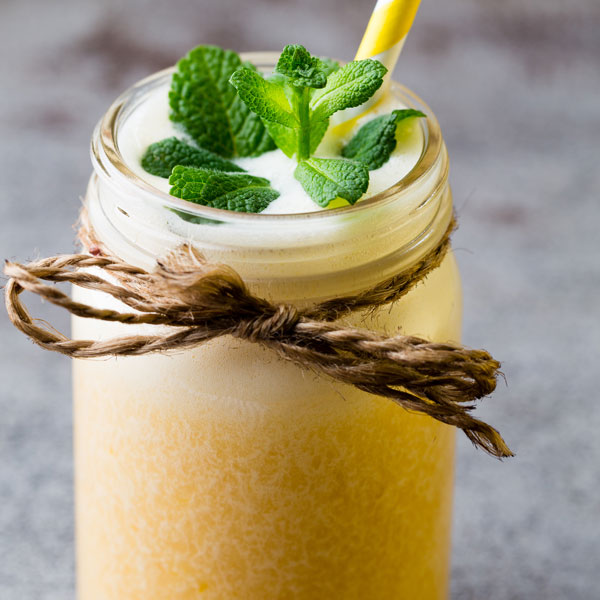 Pineapple Lychee Smoothie